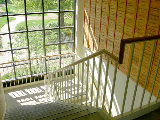 Commercial Stairway Railing