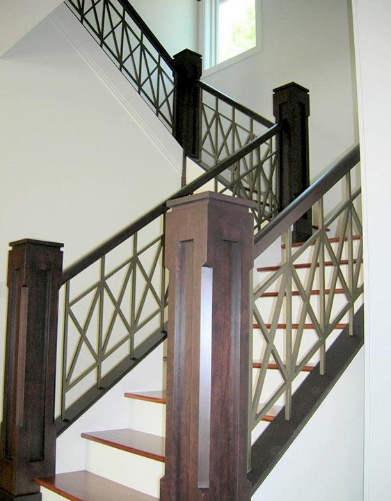 Residential Stairway Railing